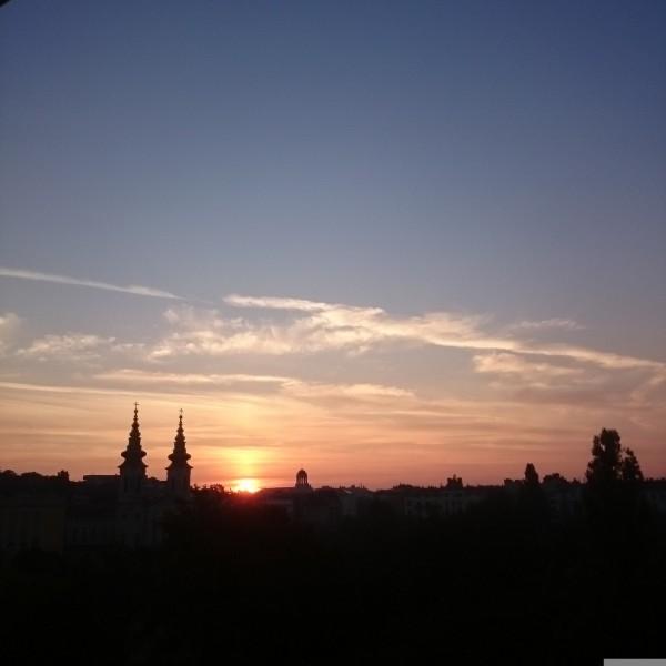 Будапешт рассвет