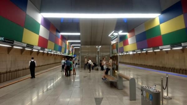 Такая родная станция метро - площадь им. Мариуша Зигмунда