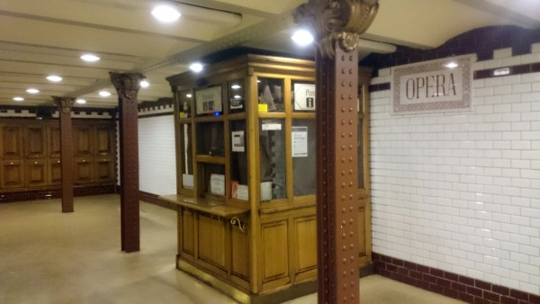 Одна из старейших станций метро на континенте