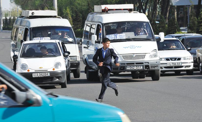 Дорожное движение Ташкента. Бессмысленное и беспощадное