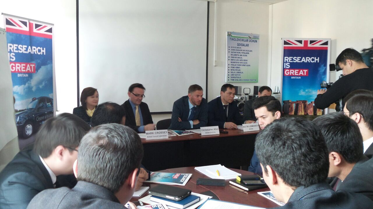 Photo of Research is #GREAT: Научное сотрудничество между Великобританией и Узбекистаном