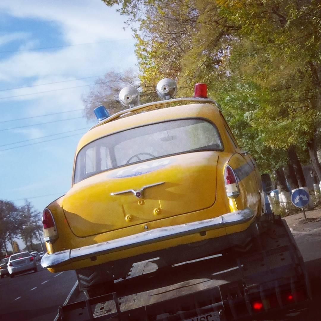 Photo of ГАЗ-21 в спецокраске ГАИ СССР